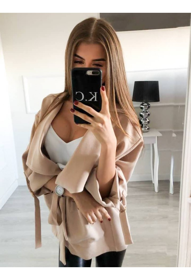 Prechodný kabátik Paris Vogue - Beige