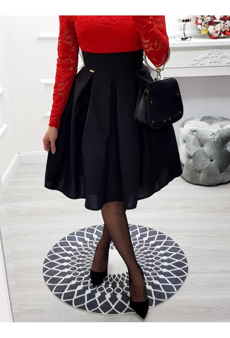 Spoločenská sukňa Lorette - čierna