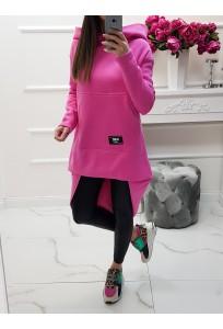 Asymetrická mikina MC Beatle - pink