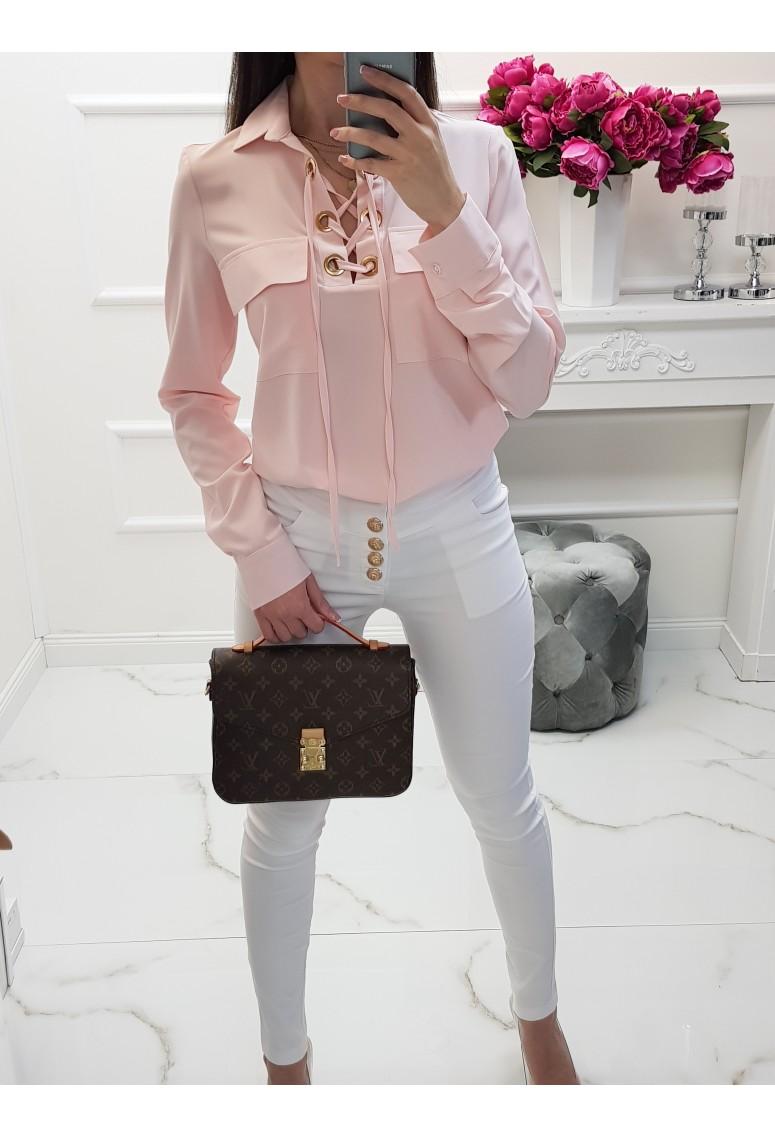 Blúzka Sylvia - pastel pink