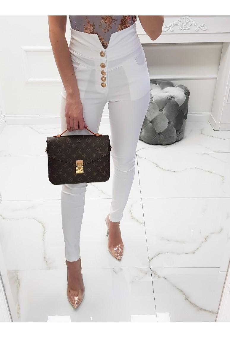 Nohavice s vysokým pásom Balmini Whitte