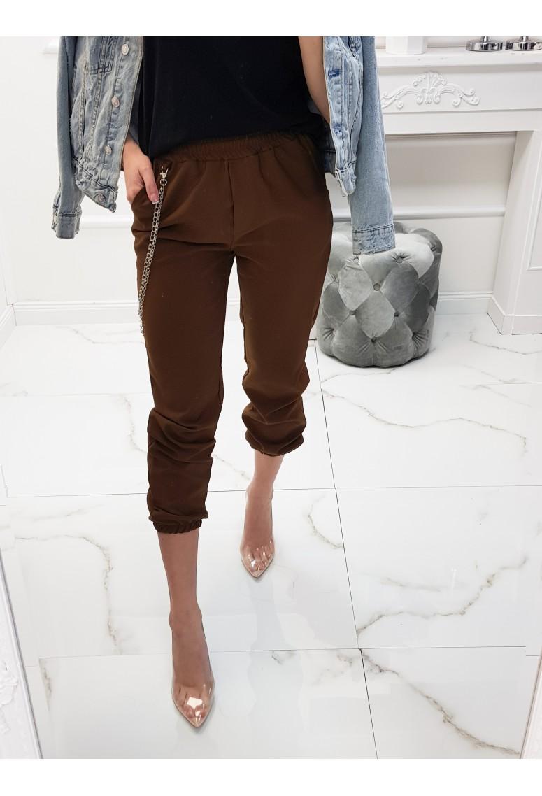 Nohavice s retiazkou Celio - brown