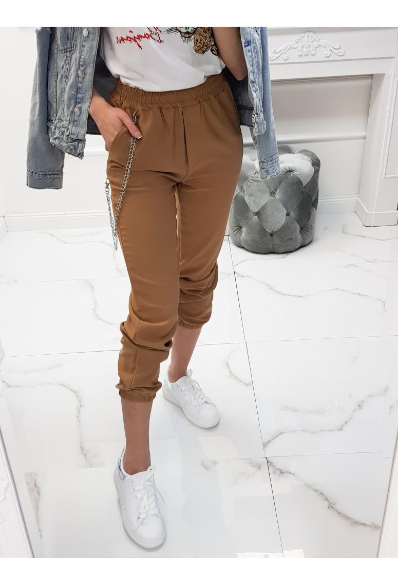Nohavice s retiazkou Celio - beige