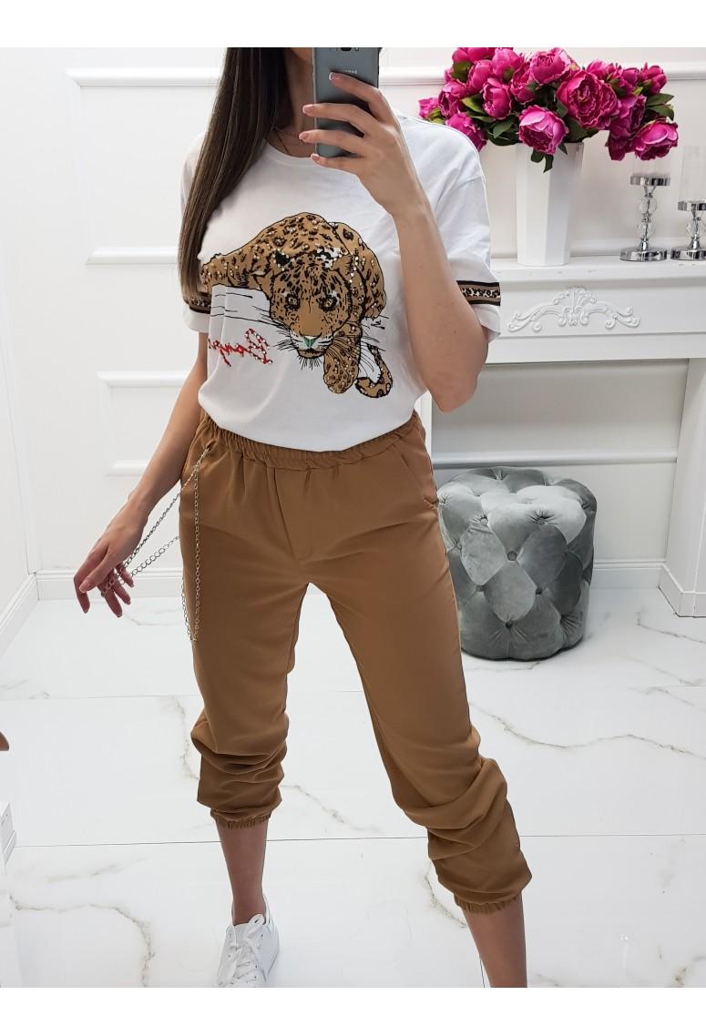 Tričko Leopard - whitte