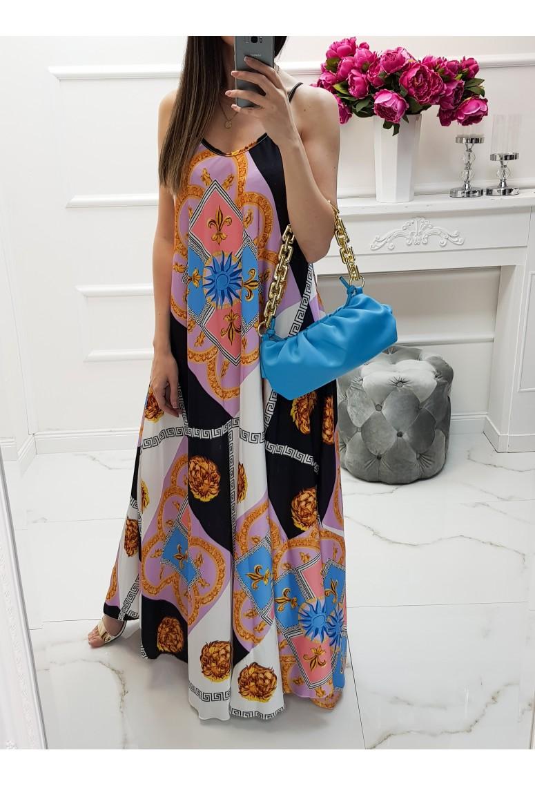 Maxi šaty Donatella - black