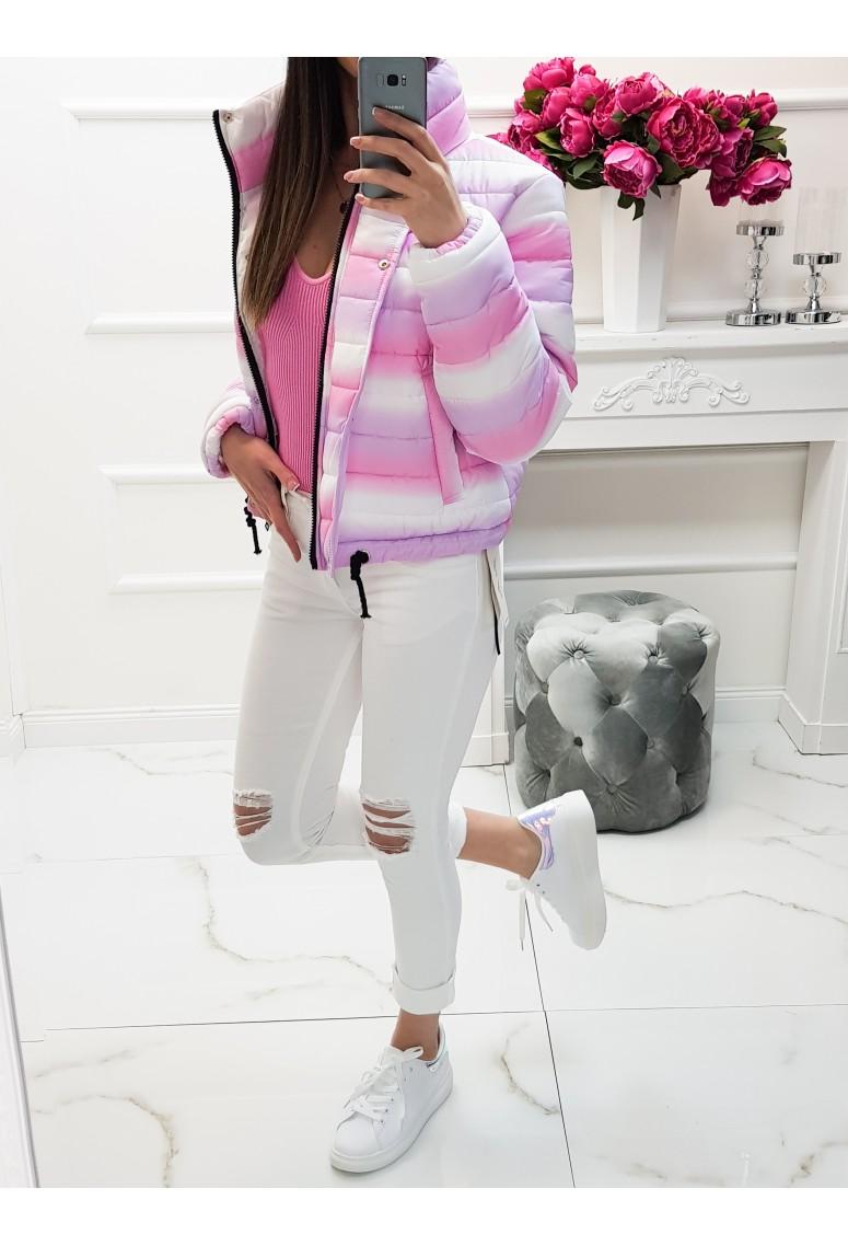 Prechodná bunda Marshmallow - pink