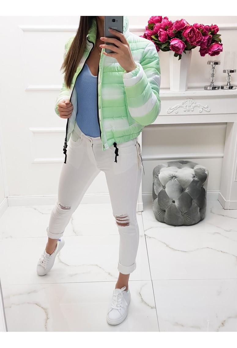 Prechodná bunda Marshmallow - green