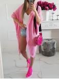 Pletený kardigan  Fashion - ružový