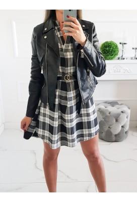 Koženková bunda Zippers