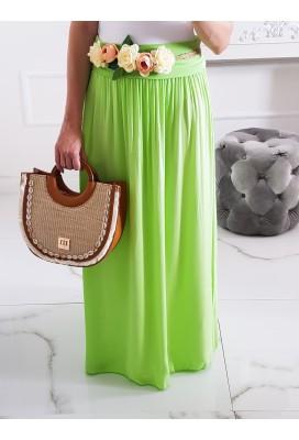 Maxi sukňa Hot Summer - Limette