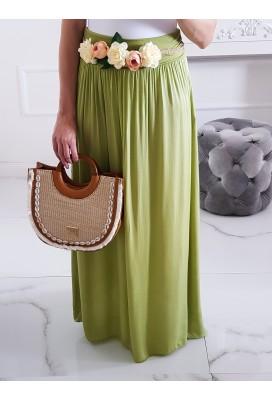 Maxi sukňa Hot Summer - olive