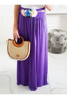 Maxi sukňa Hot Summer - Purple
