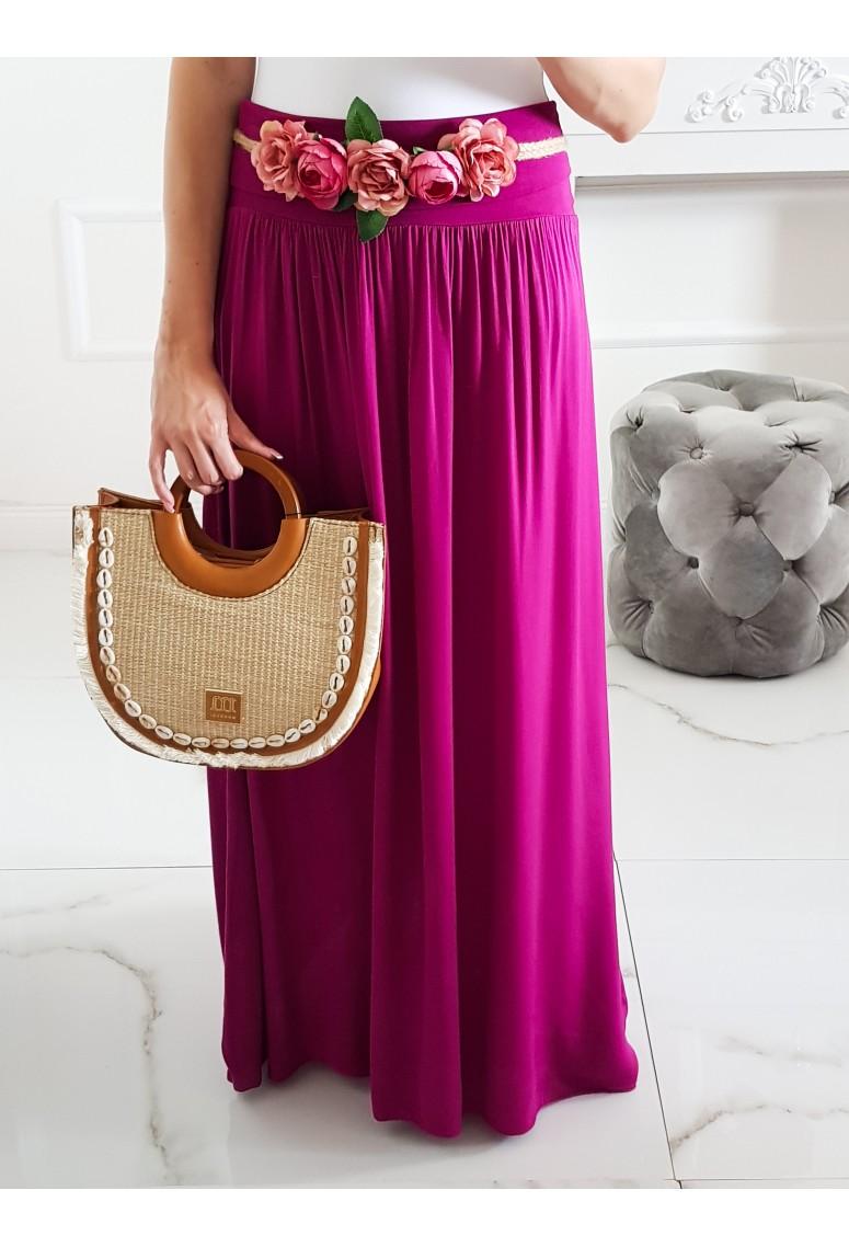 Maxi sukňa Hot Summer - fuchsia