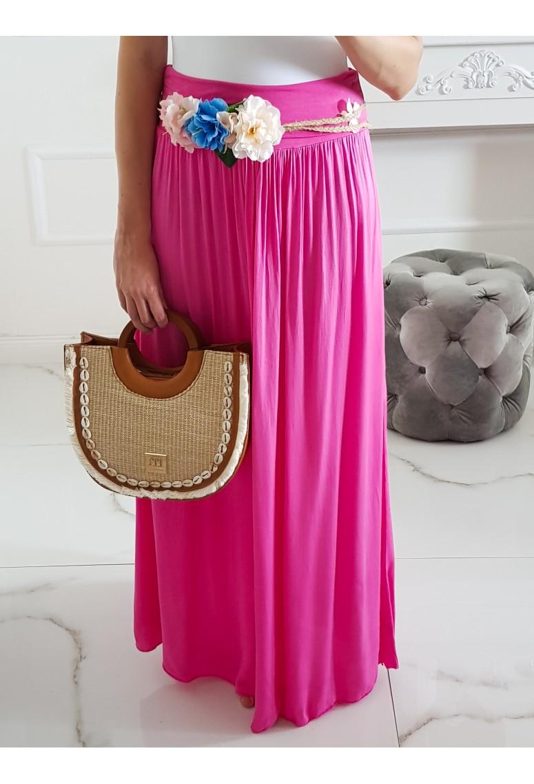 Maxi sukňa Hot Summer - Doll Pink