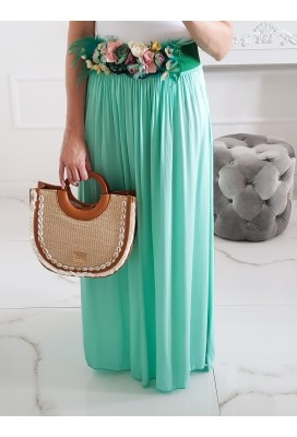 Maxi sukňa Hot Summer - Mint