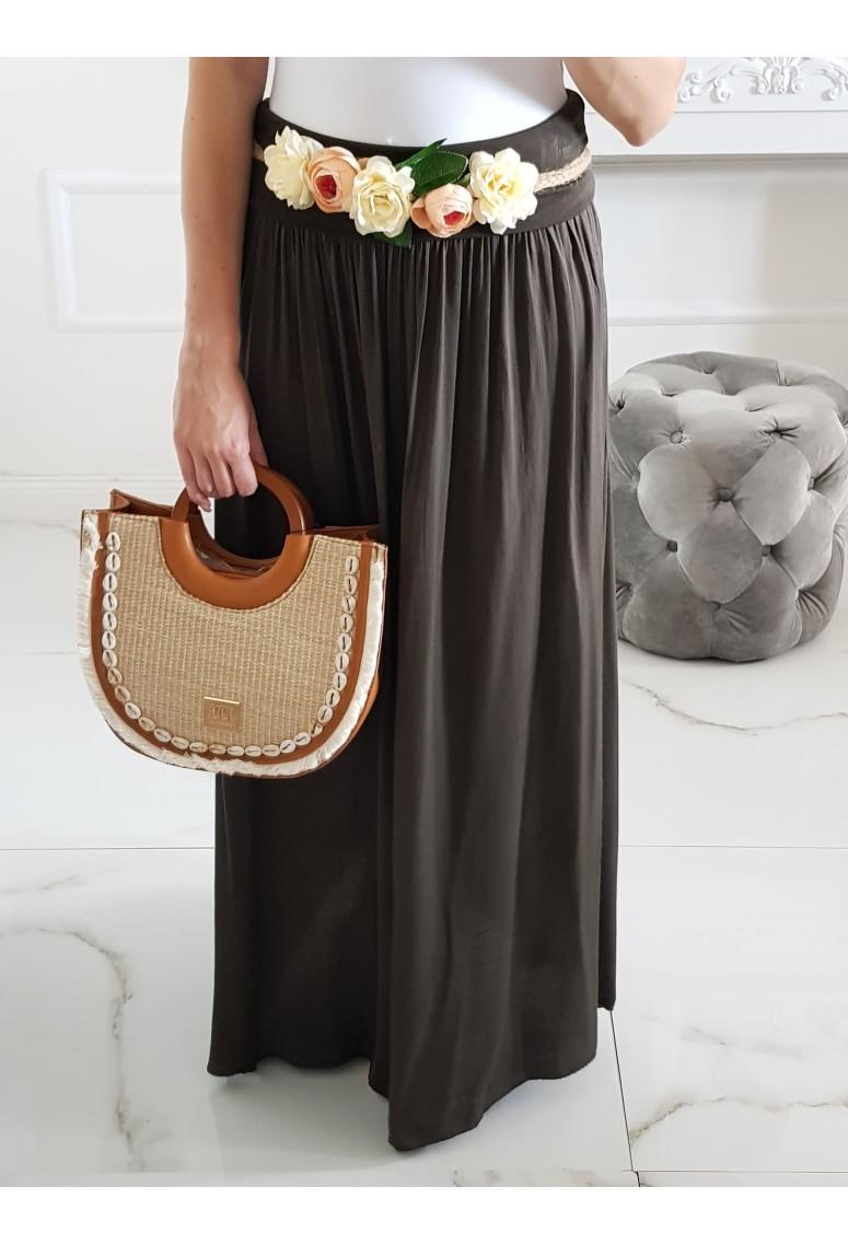 Maxi sukňa Hot Summer - Cocoa