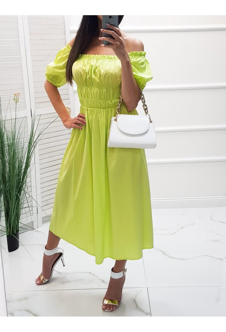 Šaty Fresh Limette