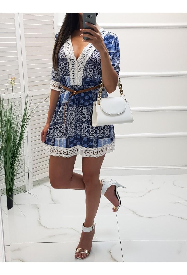 Šaty Salome - modré