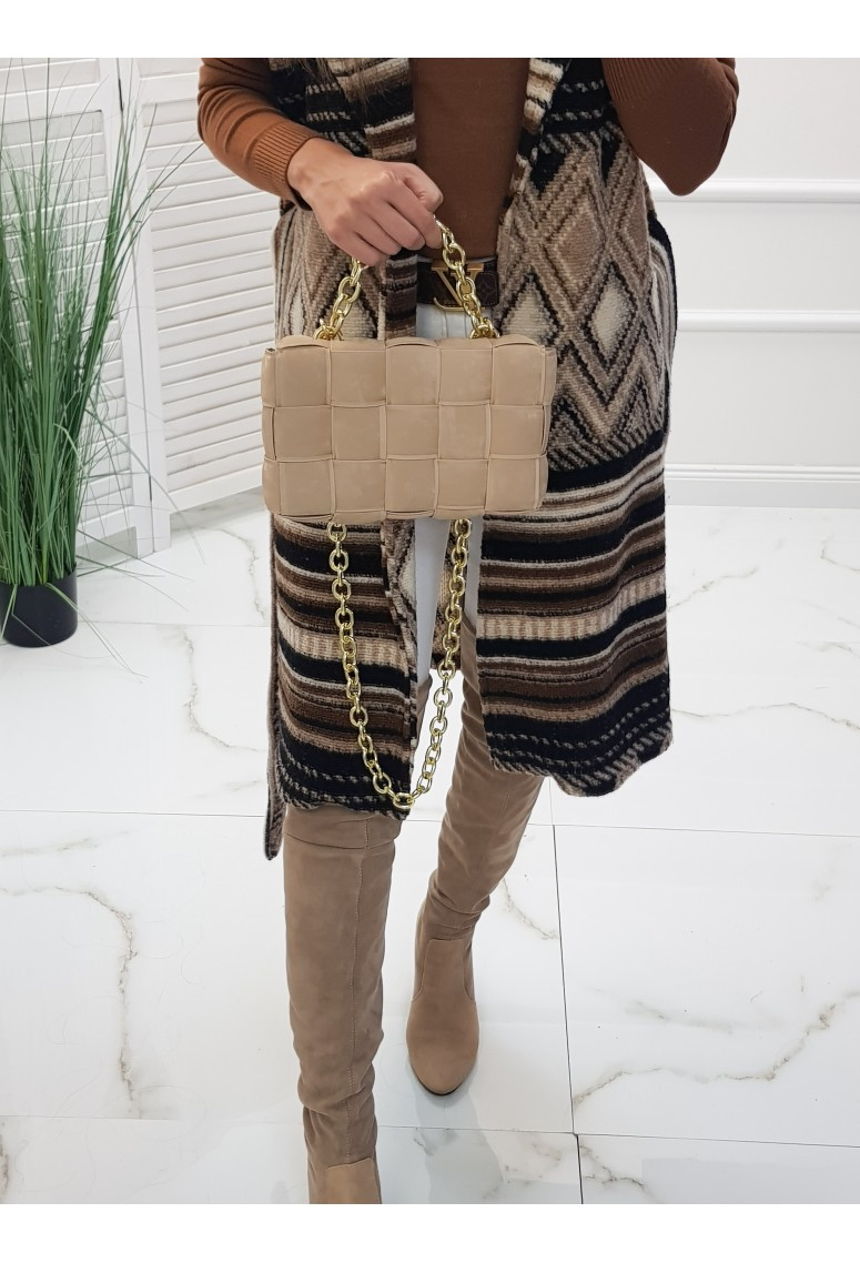 Štýlová kabelka Noris - beige