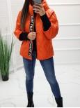 Štýlová prechodná bunda Beautiful Orange
