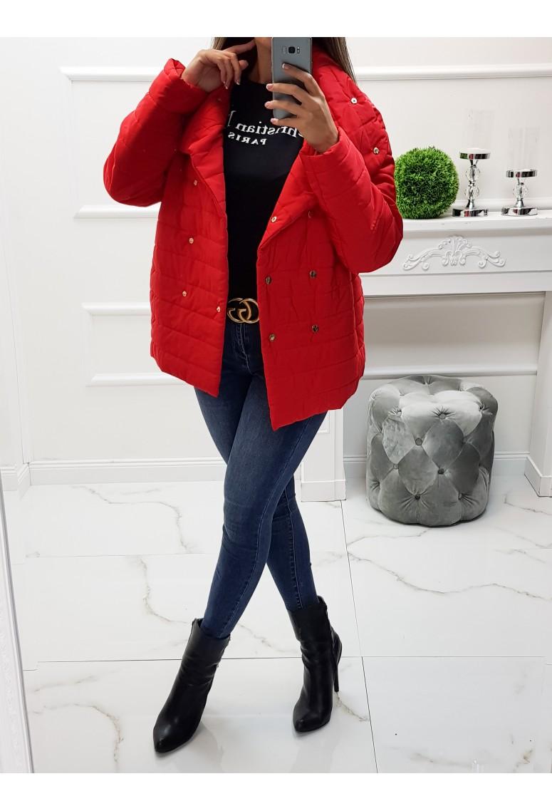 Prechodná bunda Olivia - Red