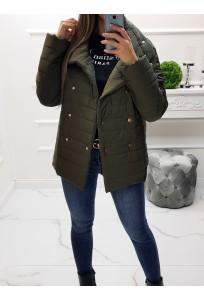 Prechodná bunda Olivia - khaki