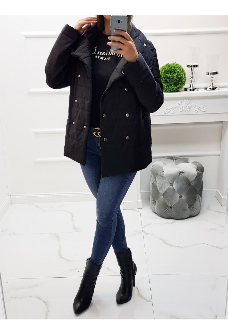 Prechodná bunda Olivia - Black