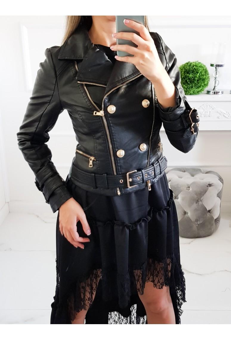 Koženková bunda Leon