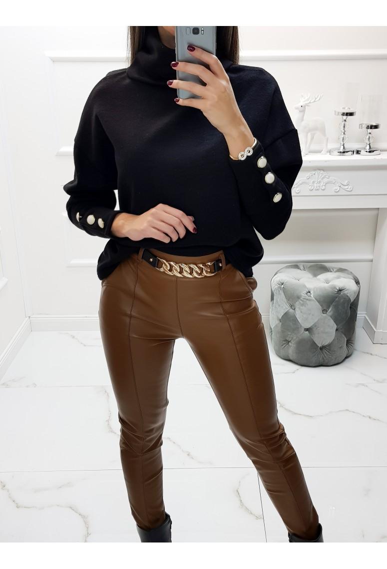 Sveter Vogue Perles - čierny