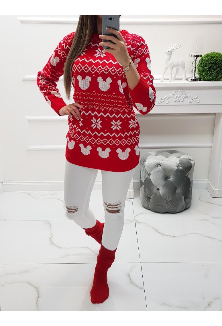 Vianočný sveter Mickey