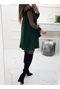Šaty Isabell Lace green