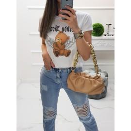 Bavlnené tričko Teddy Angel