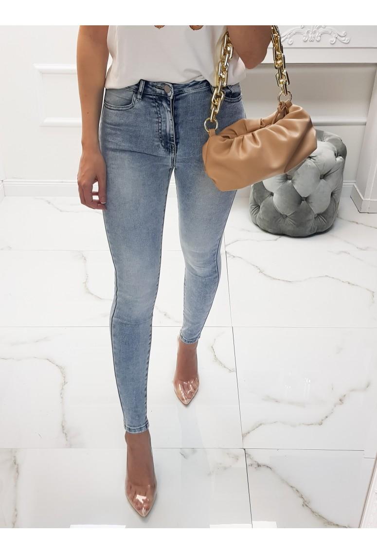 Skinny jeans svetlé Bergamo