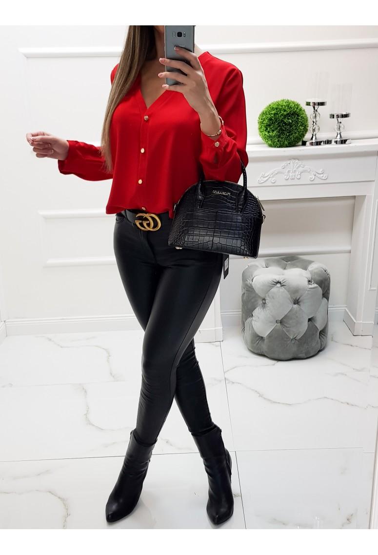 Blúzka Luxury Red