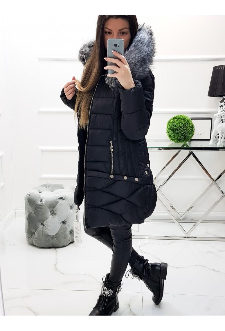 Zimná bunda Denver - čierna