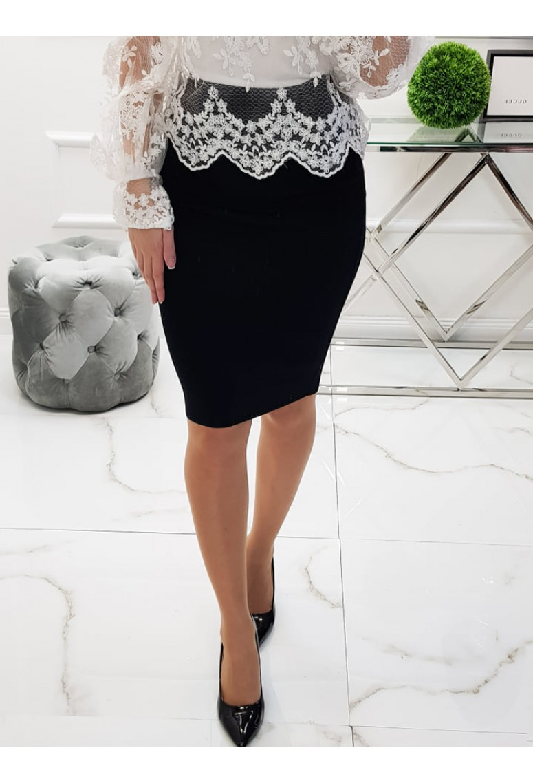 Bandažová sukňa Black