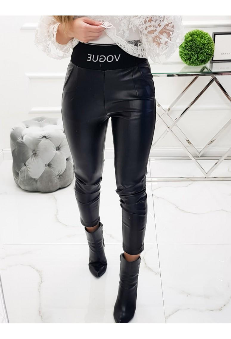 Koženkové nohavice VOGUE