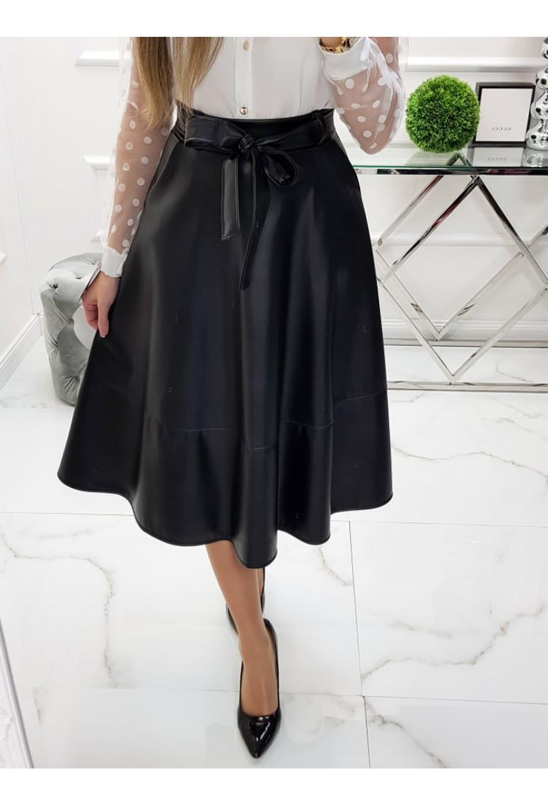 Koženková sukňa Aniss