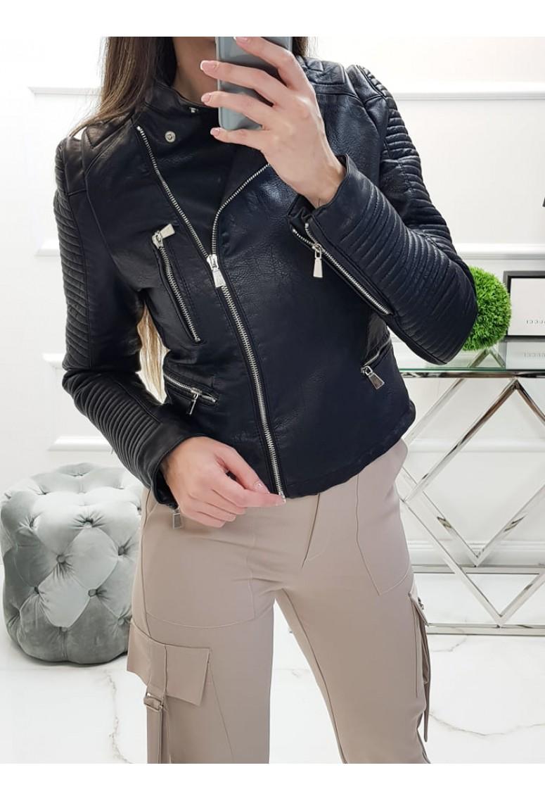 Koženková bunda Biker