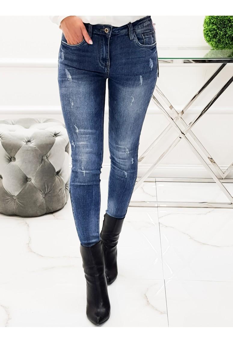 Elastické jeansy Toxik Zipper
