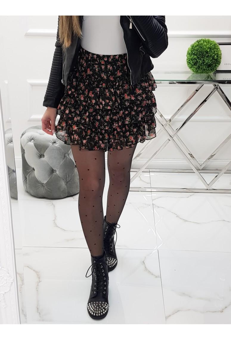 Sukňa Italy Style - fiora red