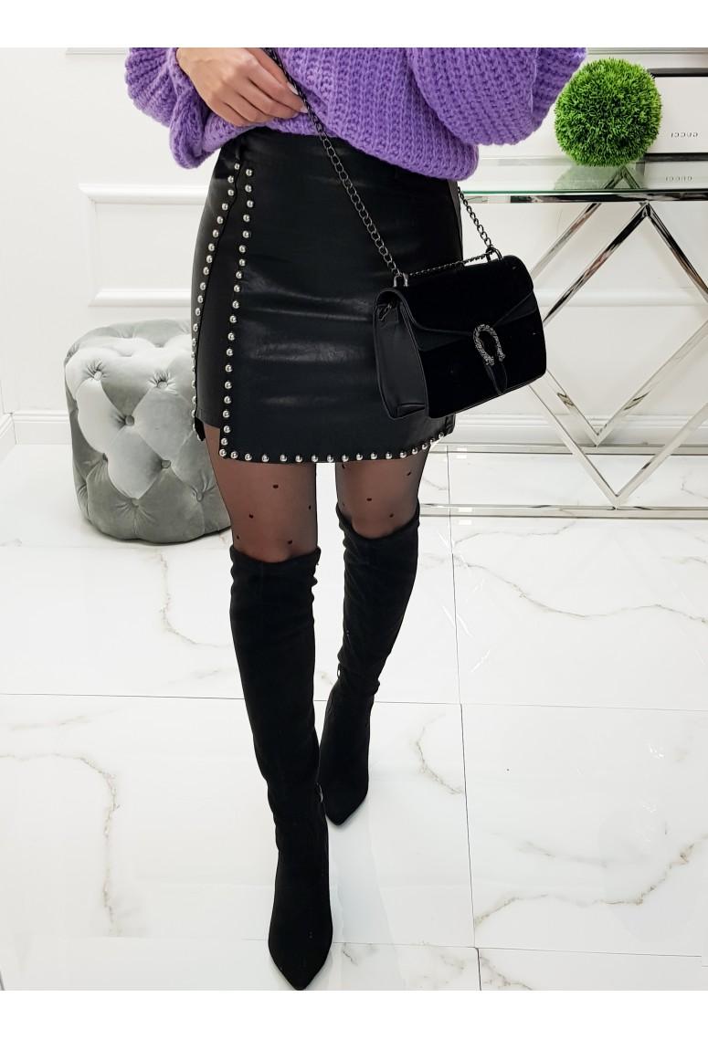 Koženková sukňa Rock