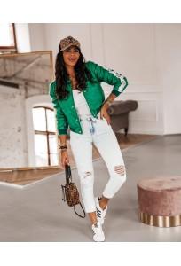 Jarná bunda Lili - green