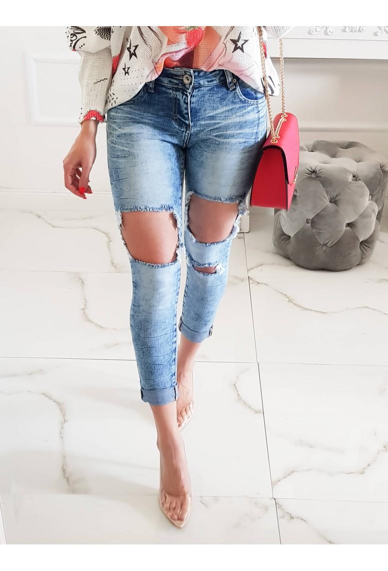 Elastické jeansy Skinny