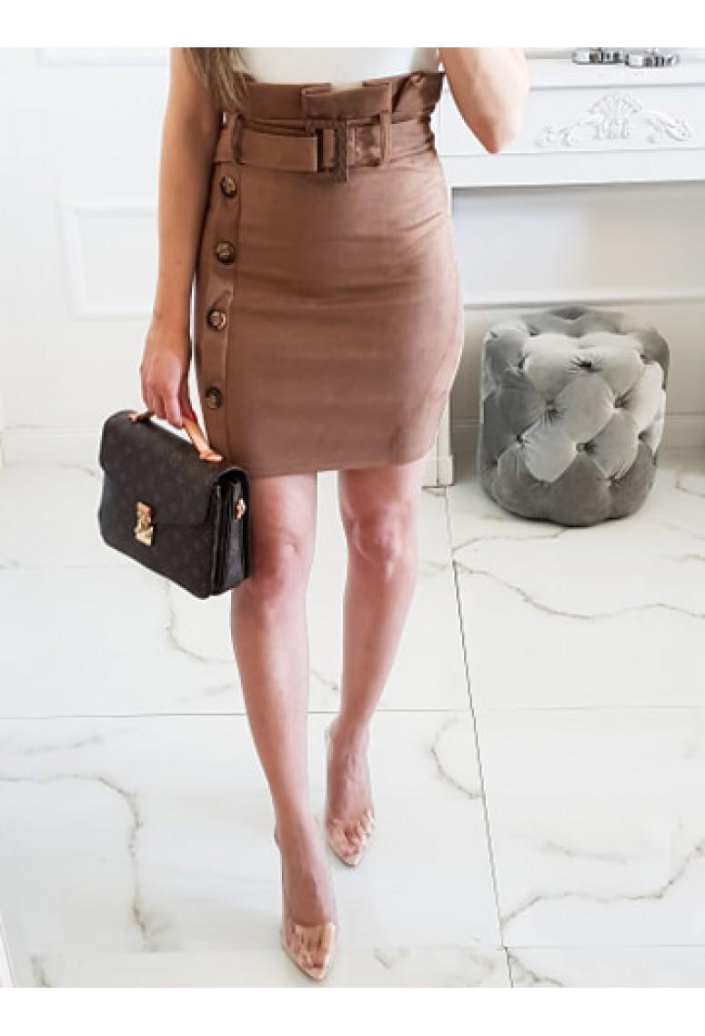 Sukňa Nella s vysokým pásom