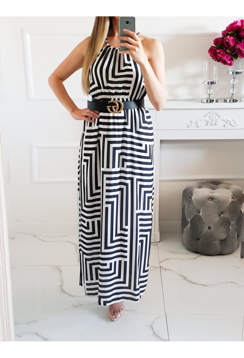 Maxi šaty Stripes