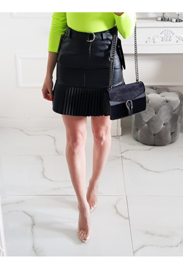 Koženková sukňa Zara