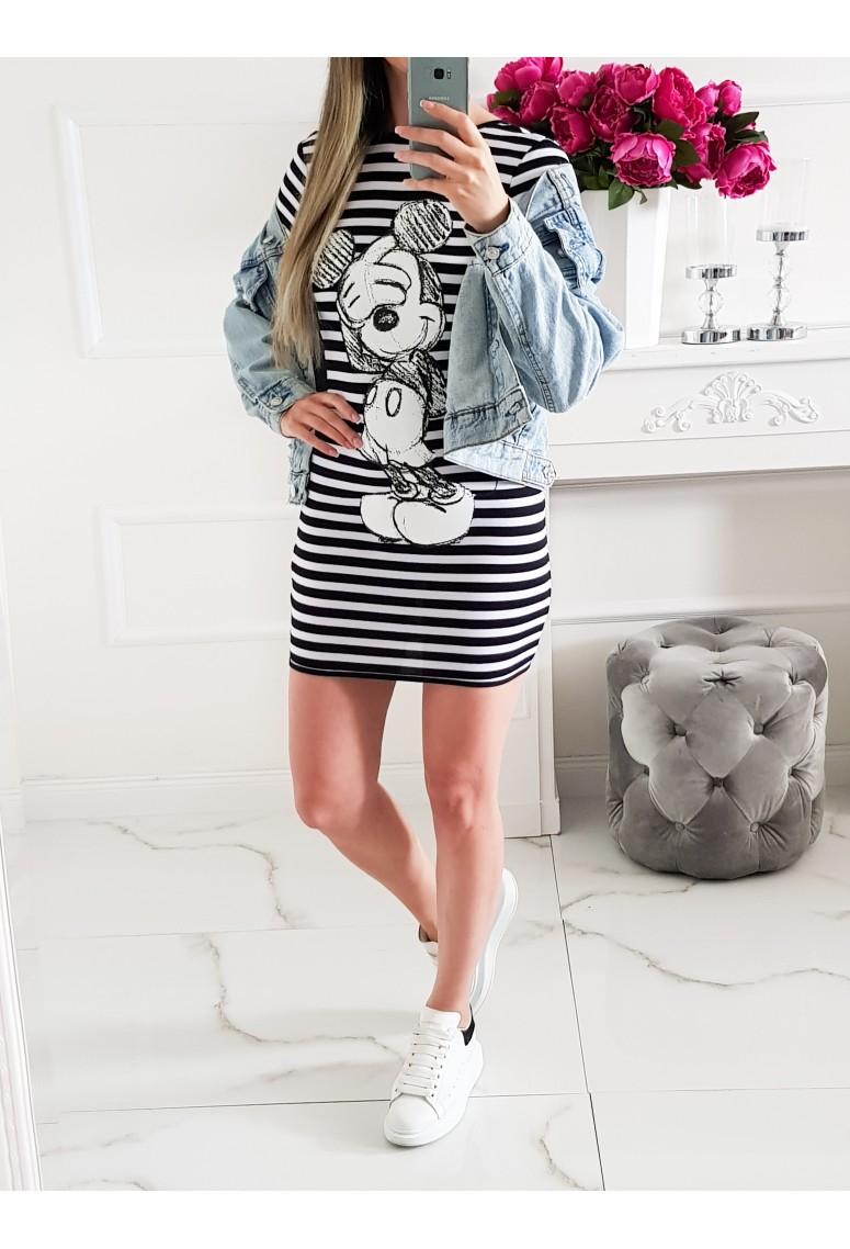 Šaty/ predlžený top Mickey Stripes