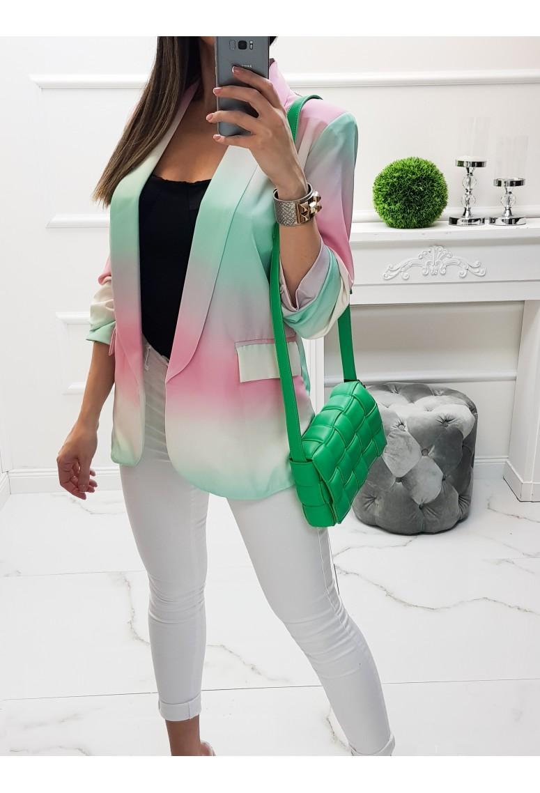 Sako Ombré pink/green