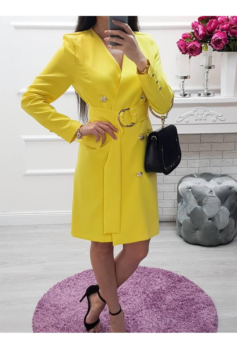 Šaty Yellow Ann